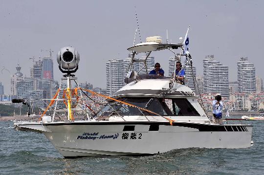 图文-奥帆赛工作船艇之帆船小常识 船上的媒体设施