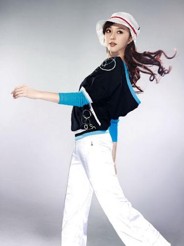 图文-范冰冰奥运时尚写真 时尚女郎