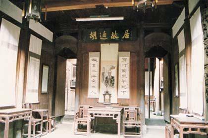 胡适故居:国学大师诞生之地 海内名士敬仰之所