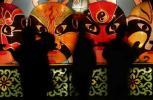 图文-北京风情图片 春节庙会的京剧脸谱