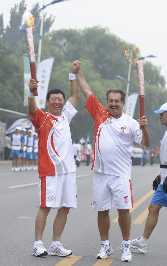 北京传递第2日