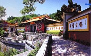 汕头景点:青云岩风景名胜区 寺庙与天然岩洞共存