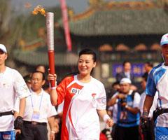 奥运圣火在太原传递
