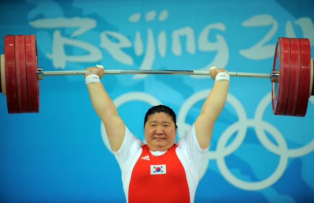举重女子75公斤以上级决赛