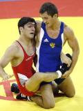 图文-奥运会自由式摔跤回顾 哥们服不服