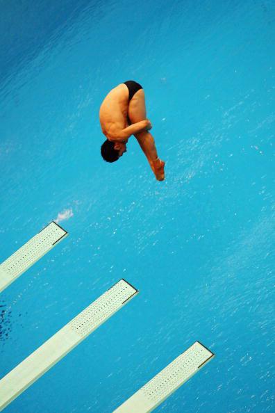 图文-跳水男子三米板半决赛 墨西哥难度王