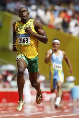 图文-奥运会男子200米预赛 新飞人博尔特出战