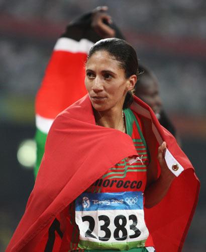 图文-田径女子800米决赛打响 摩洛哥选手摘铜