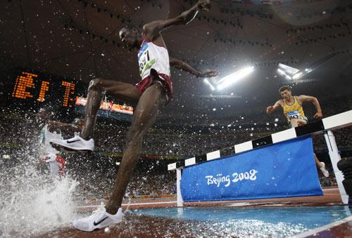 图文-田径男子3000米障碍赛 体育动感之美