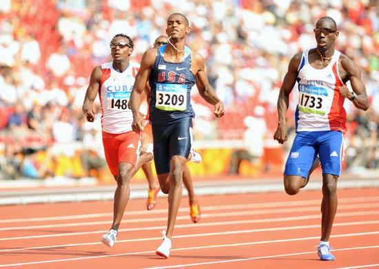 图文-奥运会男子400米预赛 谁是最后的胜者