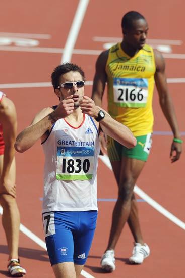 图文-奥运会男子400米预赛 英国选手罗尼
