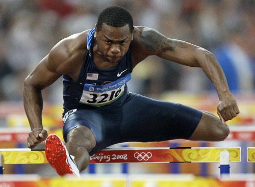 图文-110米栏预赛第2轮赛况 美国名将佩恩在比赛
