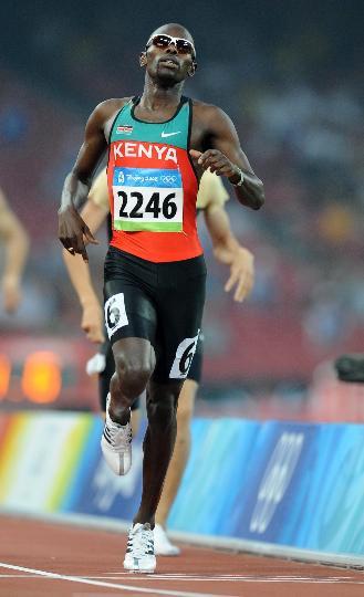 图文-奥运田径男子800米20日赛况 本盖小组第一