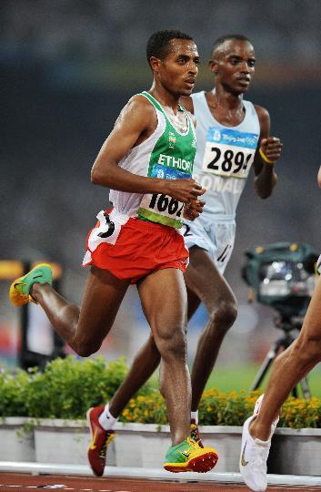 图文-奥运会男子5000米预赛 内尼萨-贝耶查晋级