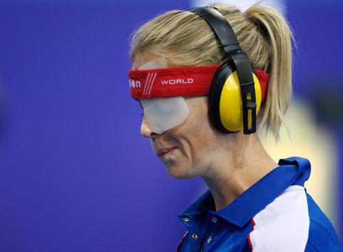 图文-奥运会女子现代五项赛况 两耳不闻窗外事