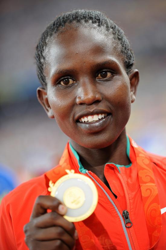 女子1500米肯尼亚夺金