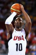 图文-[奥运]美国男篮92-69希腊 科比罚球十拿九稳