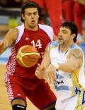 图文-[男篮]阿根廷77-53克罗地亚 传球眼疾手快