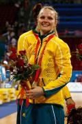图文-[女篮决赛]美国92-65澳大利亚 开心的笑容