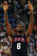 图文-美国男篮118-107西班牙 勒布朗期待金牌