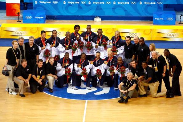 图文-美国男篮战胜西班牙夺金 美国男篮奥运夺金
