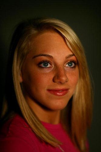 图文-美国奥运代表团成员写真 帕塞克美丽的大眼睛