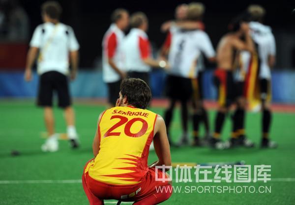图文-男曲决赛德国胜西班牙 看着对手欢庆