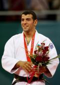 图文-男子柔道73公斤小将13秒夺金 夺得了金牌