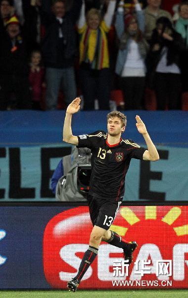 """德国小将世界杯一战成名媒体聚焦""""穆勒现象"""""""