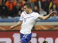 荷兰2-1喀麦隆 范佩西
