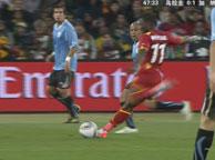 加纳3-5乌拉圭 蒙塔里