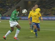 巴西3-1科特迪瓦 德罗巴