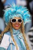 阿根廷美女球迷