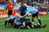 乌拉圭队开心