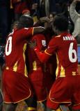 加纳球员欢呼