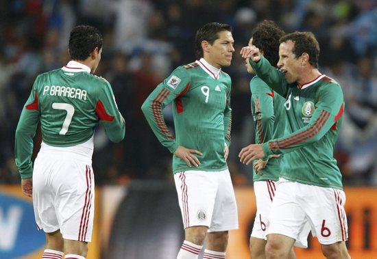 图文-[1/8决赛]阿根廷3-1墨西哥墨西哥输得遗憾
