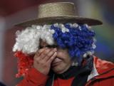 智利球迷悲伤