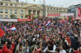 巴拉圭首都欢庆胜利