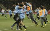 乌拉圭人狂喜
