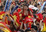 西班牙性感女球迷
