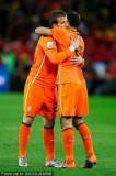 荷兰队友互相激励