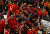 西班牙颁奖后欢呼