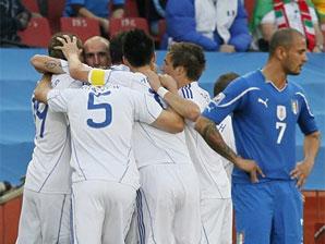 意大利2-3负垫底出局