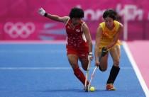 女子曲棍球中国0-1日本