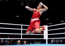 拳击男子91kg级决赛赛况