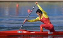 男子单人划艇200米预赛