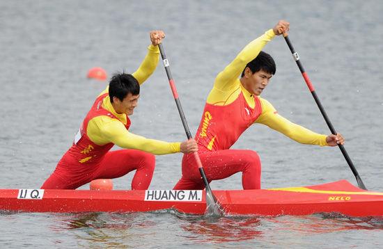 中国晋级皮划艇男子皮划艇正文新闻李强和黄茂兴顺利备战奥运悠悠球铃木图片