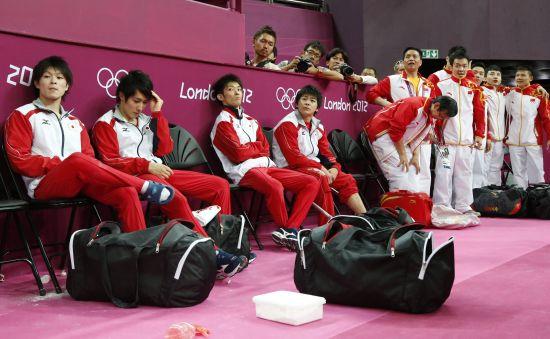 日本全队正在等待结果