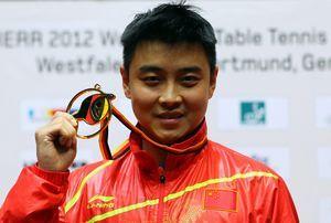 中国乒乓球队奥运名单:张继科丁宁头号种子