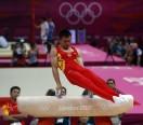 中国体操男队备战奥运